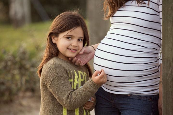 embarazo Marina de Oteo fotografía