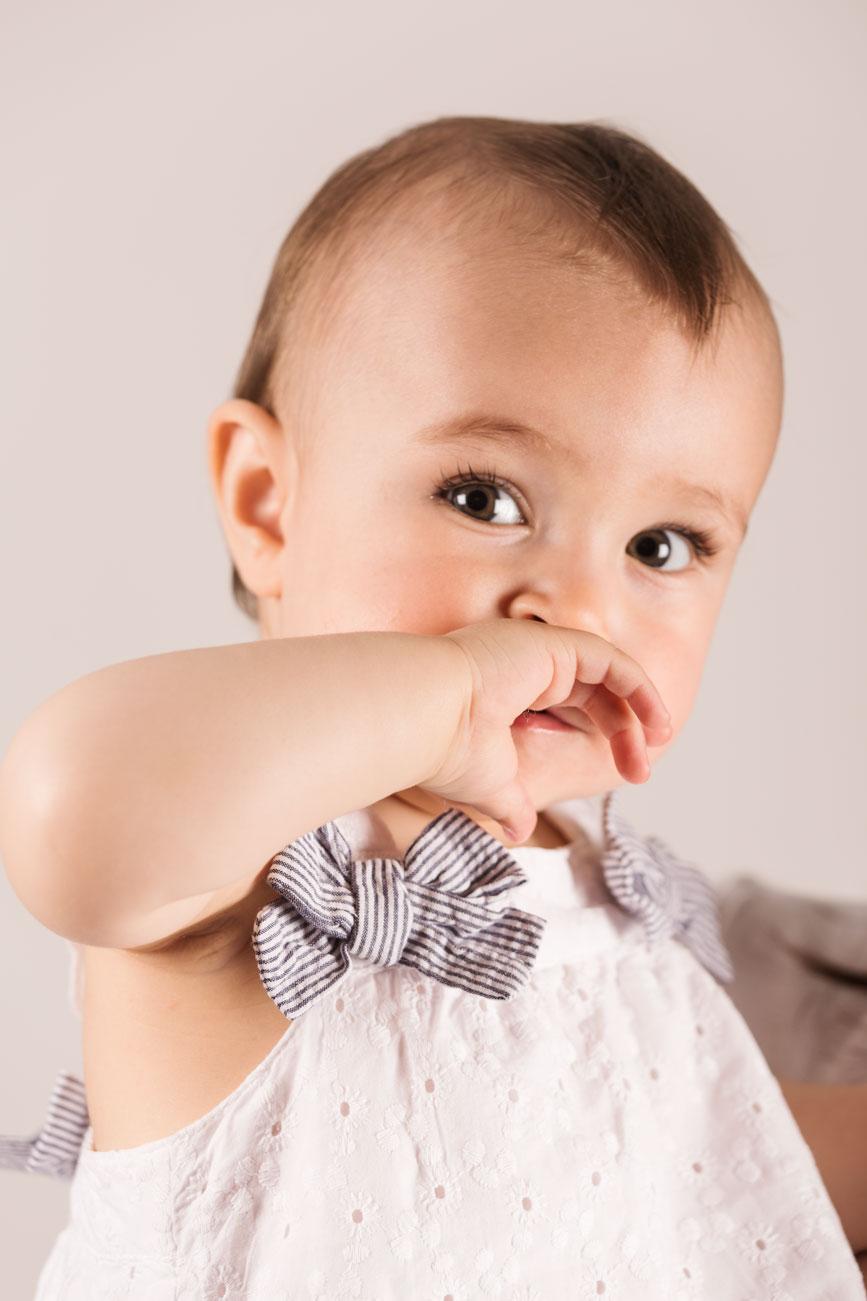 Bebé Marina de Oteo fotografía