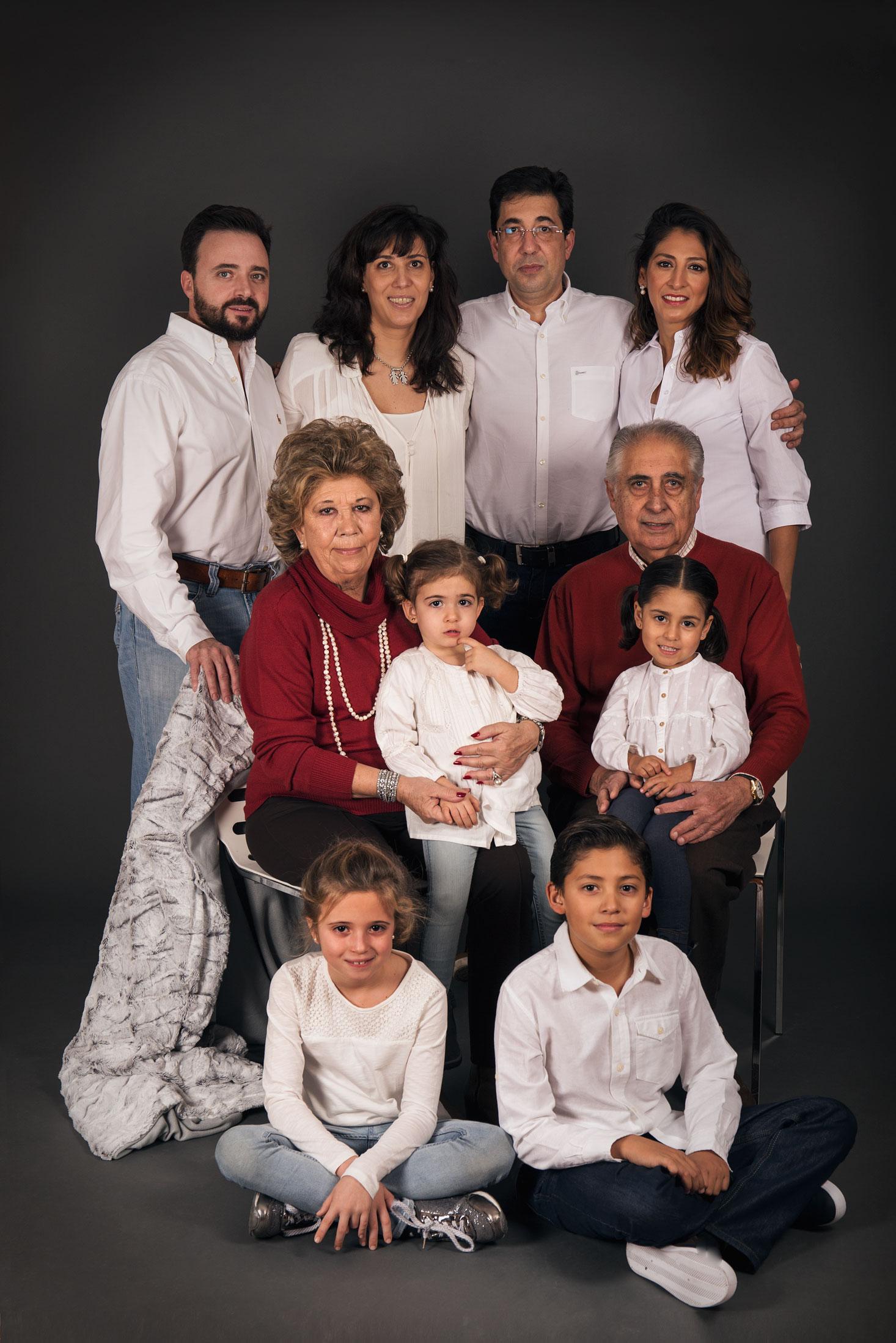 familia Marina de Oteo fotografía