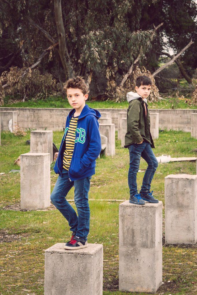 niños fotografía exteriores Marina de Oteo
