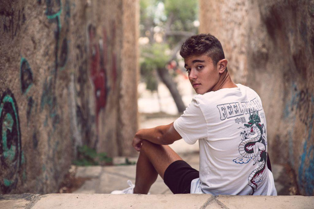 Retrato Adolescentes Marina de Oteo